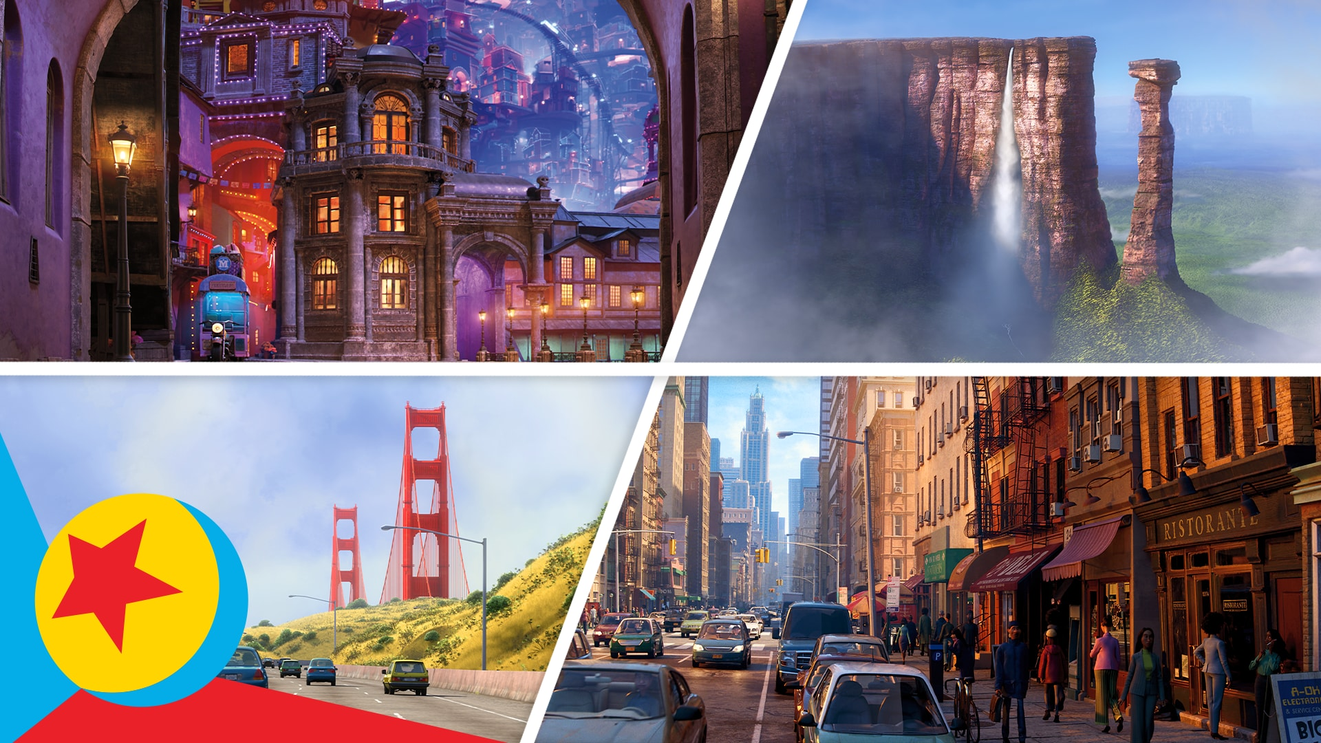 Around the Worlds of Pixar | Pixar