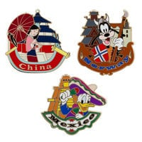 Epcot World Showcase Pin Set