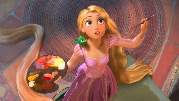I Am A Princess: Tangled