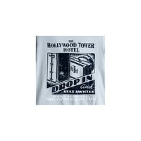 Hollywood Tower Hotel Tee for Adults - Gray