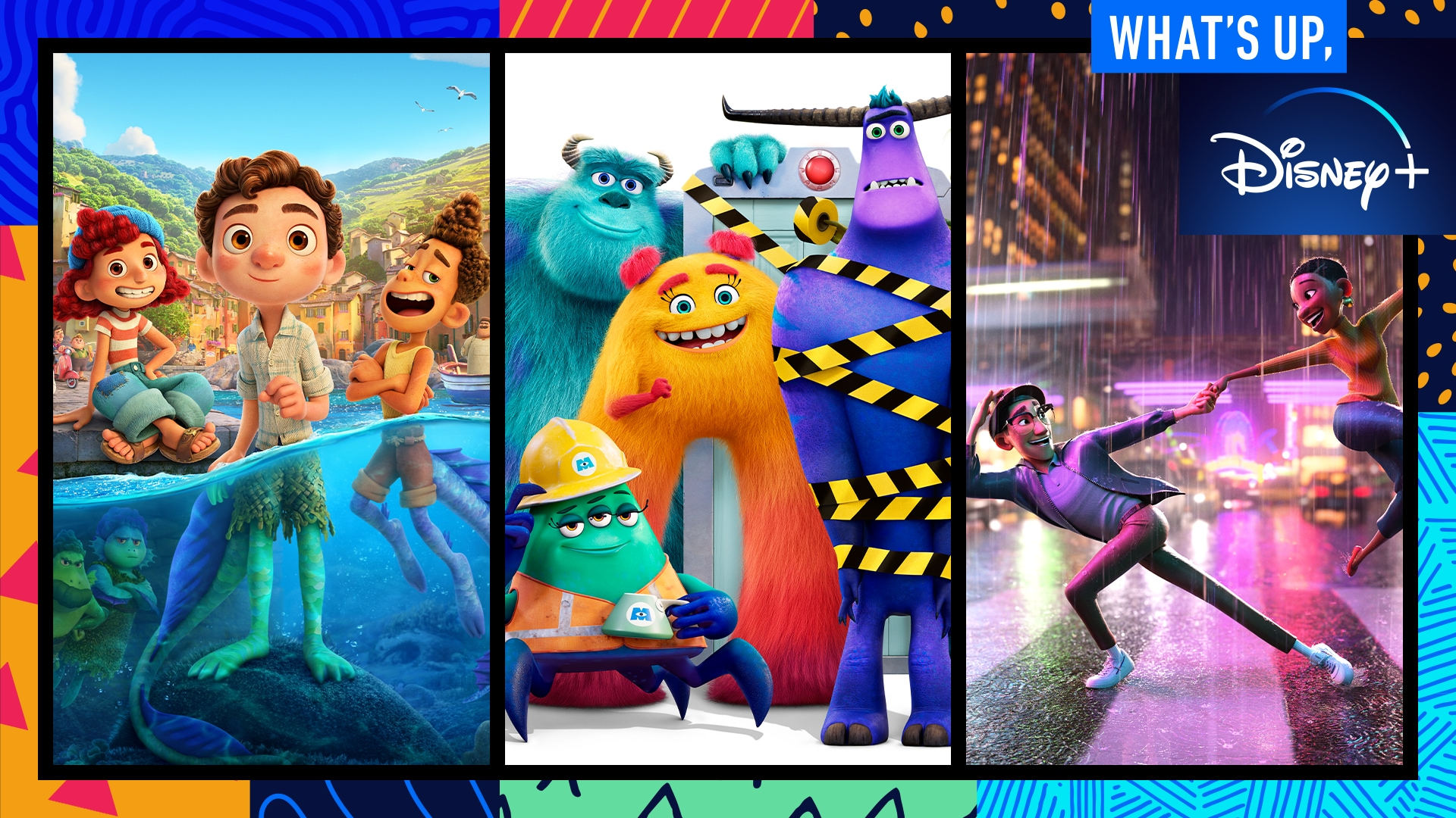 Monsters at Work and Disney and Pixar's Luca | What's Up, Disney+