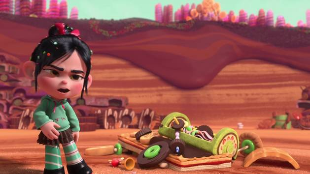 Wreck It Ralph - Ralph Meets Vanellope