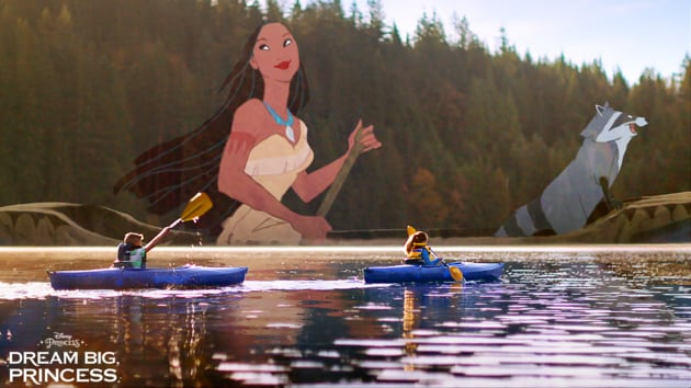 Dream Big, Princess – Projections | Disney