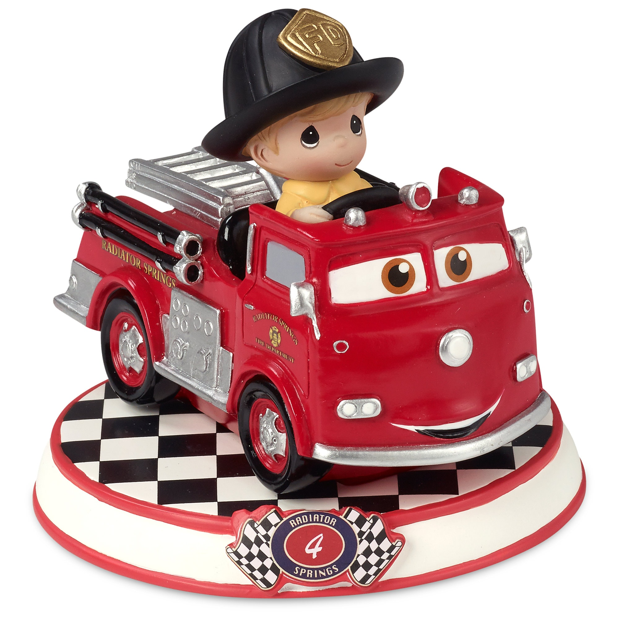 Red Figurine by Precious Moments - Cars