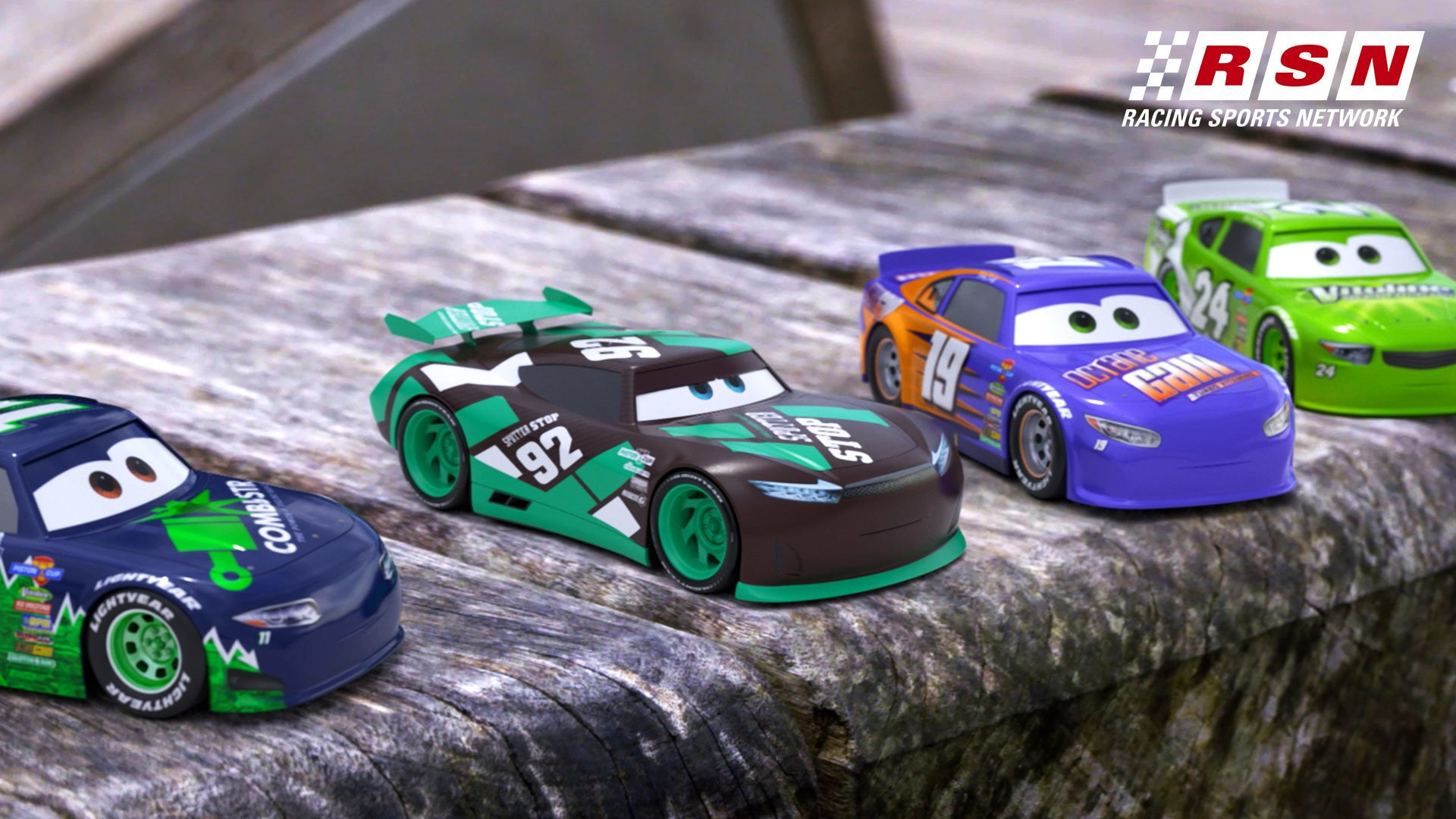 Cars Daredevil Garage Takes on the Playground | Racing Sports Network by Disney•Pixar Cars