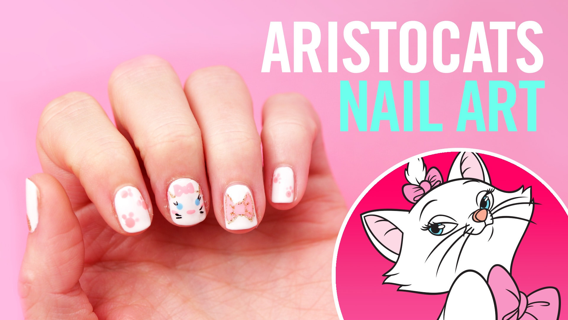 Aristocats Nail Art | TIPS | Disney Video