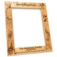 Image of Walt Disney World Frame by Arribas - Personalizable # 2