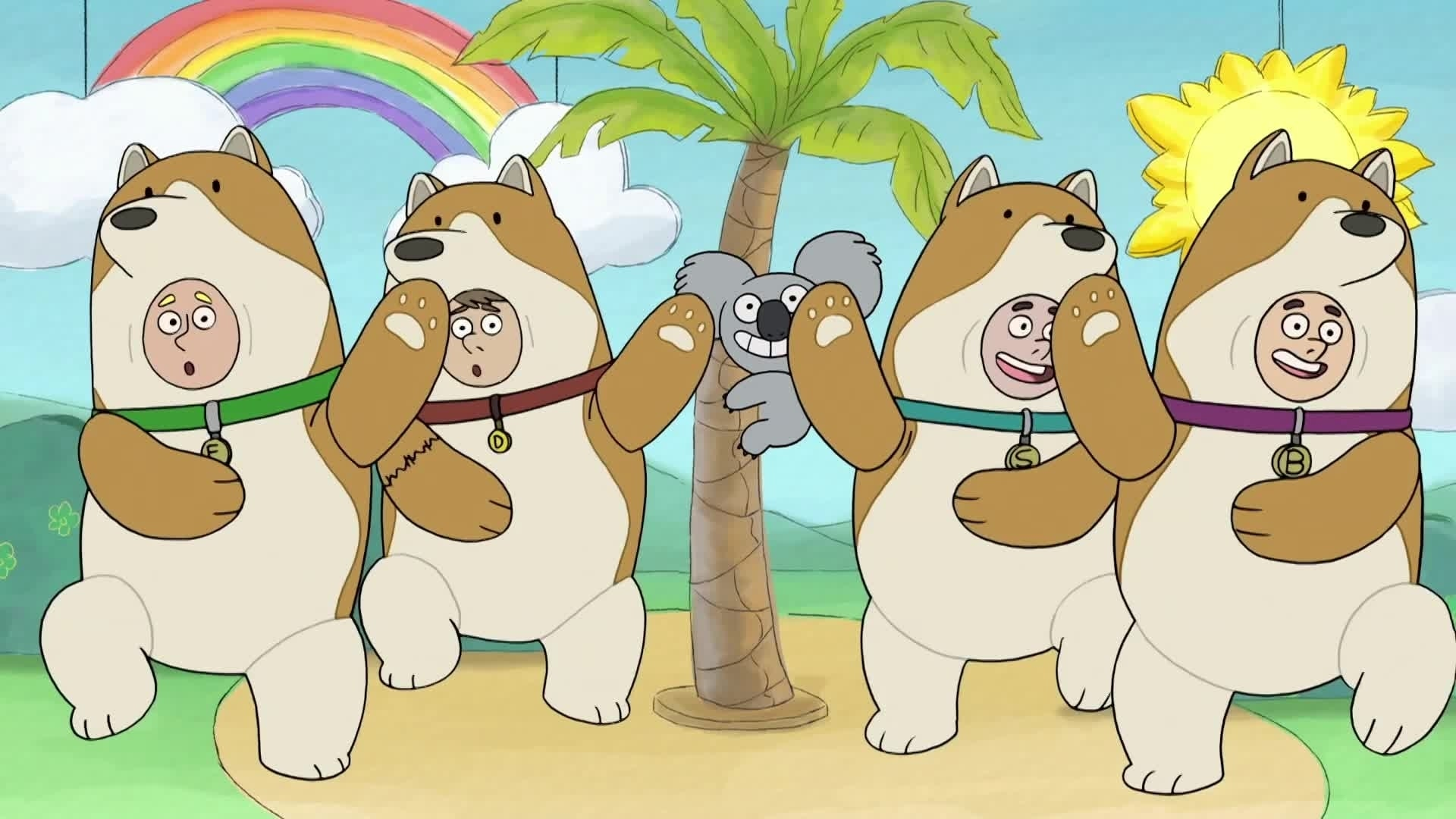 We Bare Bears - Bären wie wir - Wir und Nom Noms Wut / Eisbär und der Dämon