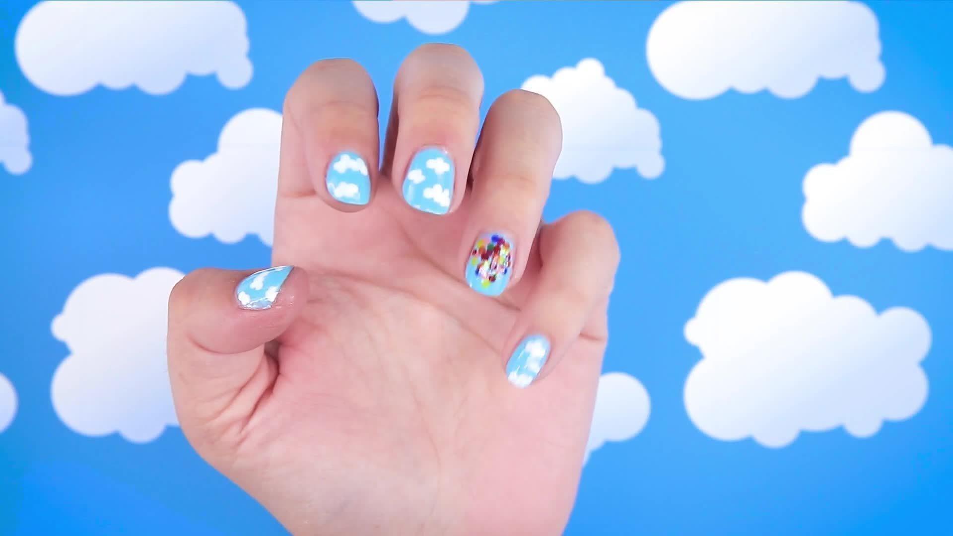 UP-Inspired Nail Art
