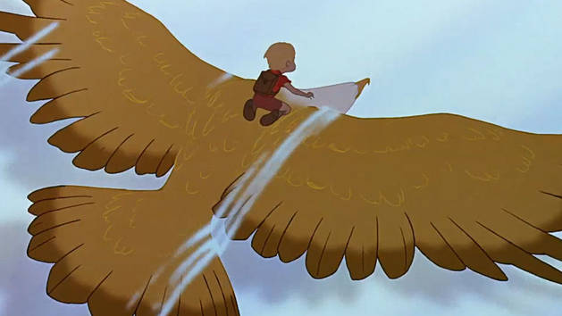 Flying with Marahute - Clip - The Rescuers Down Under