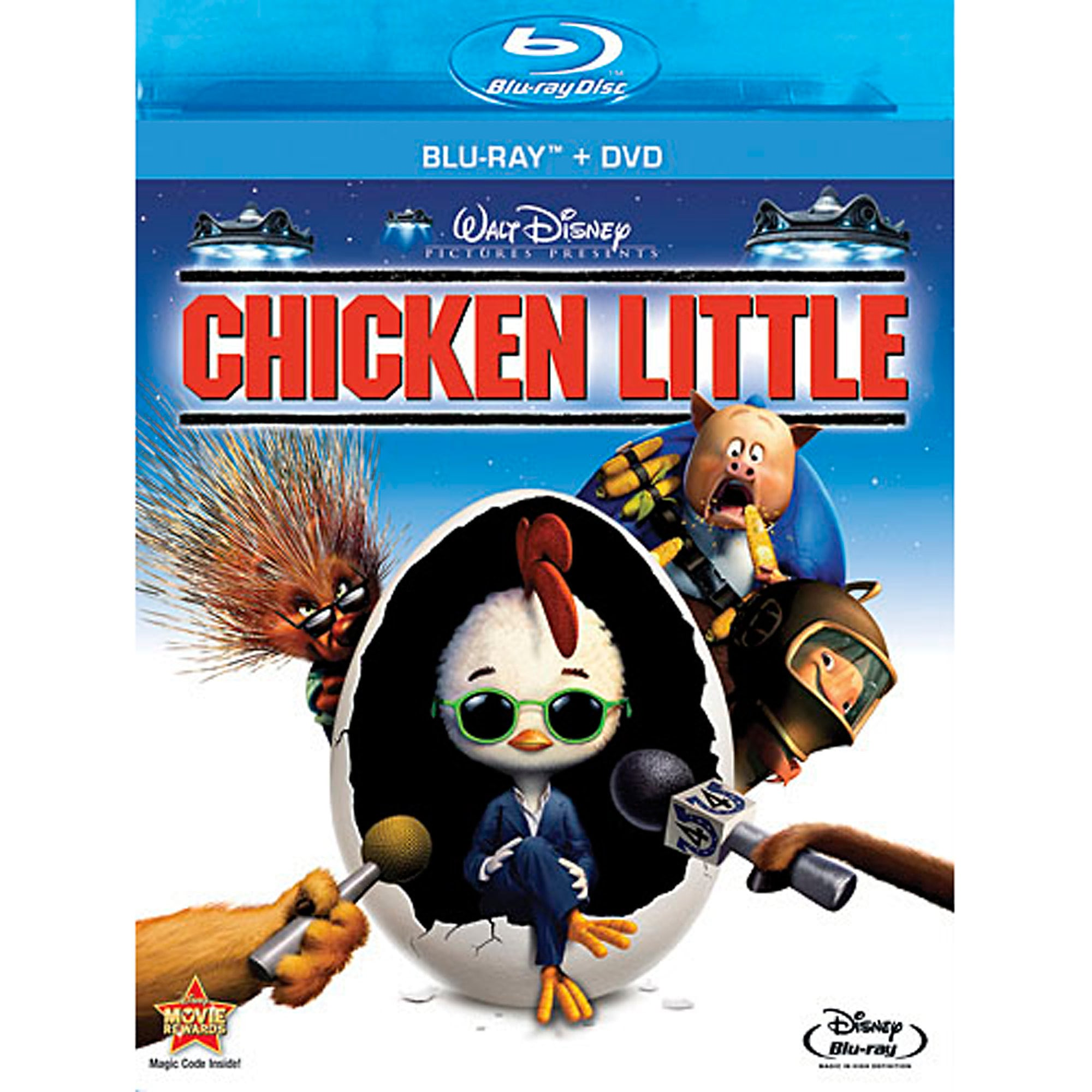 Chicken Little - 2-Disc Combo Pack