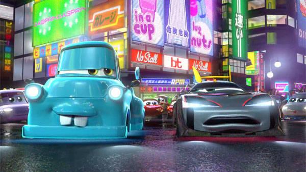 Carros Toon: Tokyo Mater