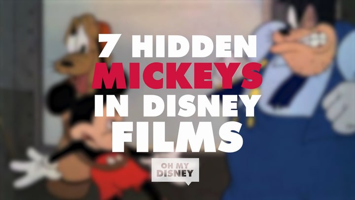 7 Hidden Mickeys You've Probably Never Noticed