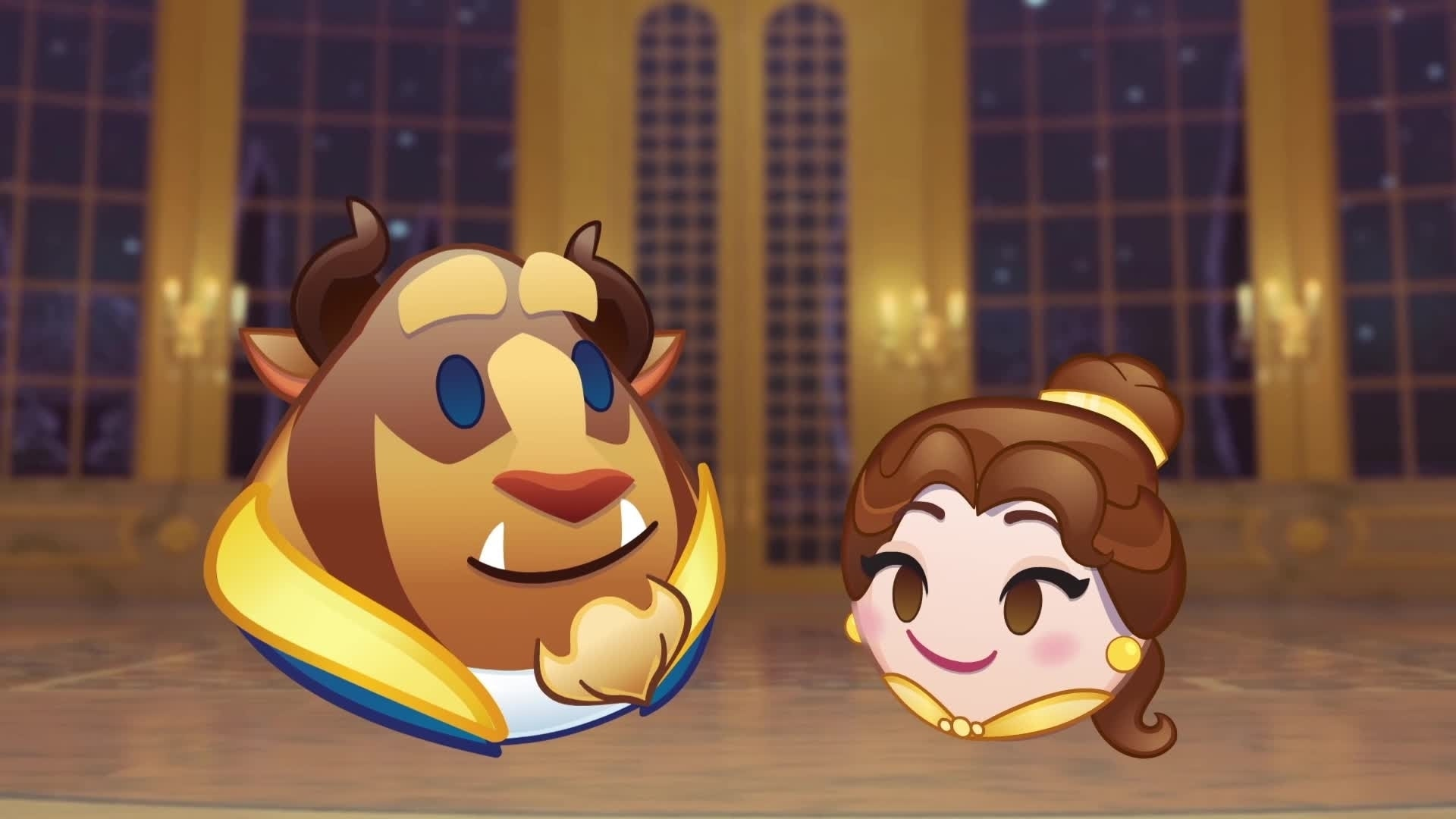 Disney Emojis - La Belle et la Bête