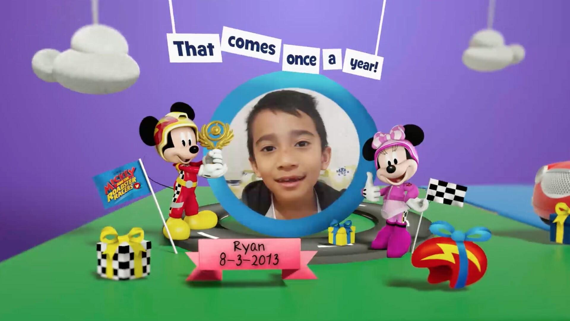 Disney Junior สมุดอวยพรวันเกิดเดือนมีนาคม 2563 Album 12