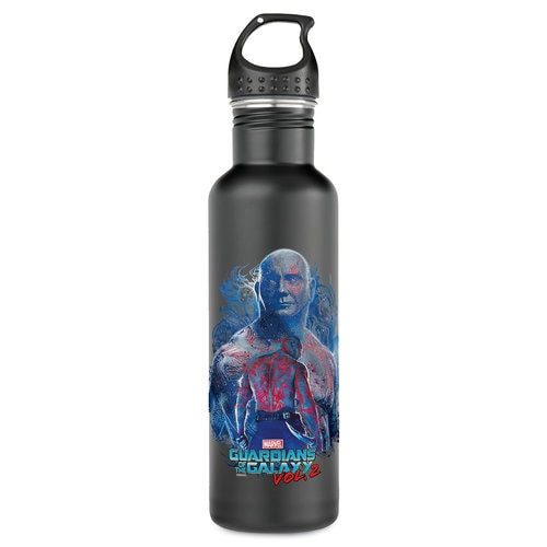 Drax Water Bottle - Guardians of the Galaxy Vol. 2 - Customizable