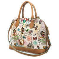 Image of Disney Sketch Zip Satchel by Dooney & Bourke # 3
