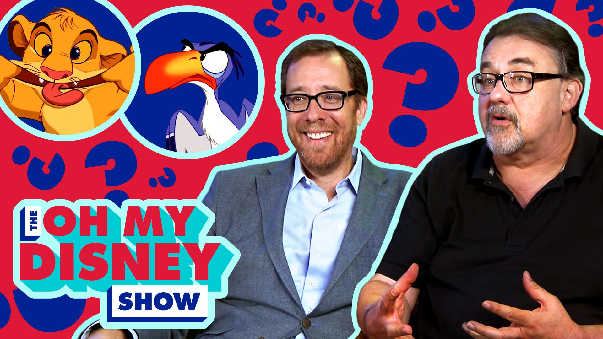 Don Hahn and Rob Minkoff Find Out Which Lion King Character They Are | Oh My Disney