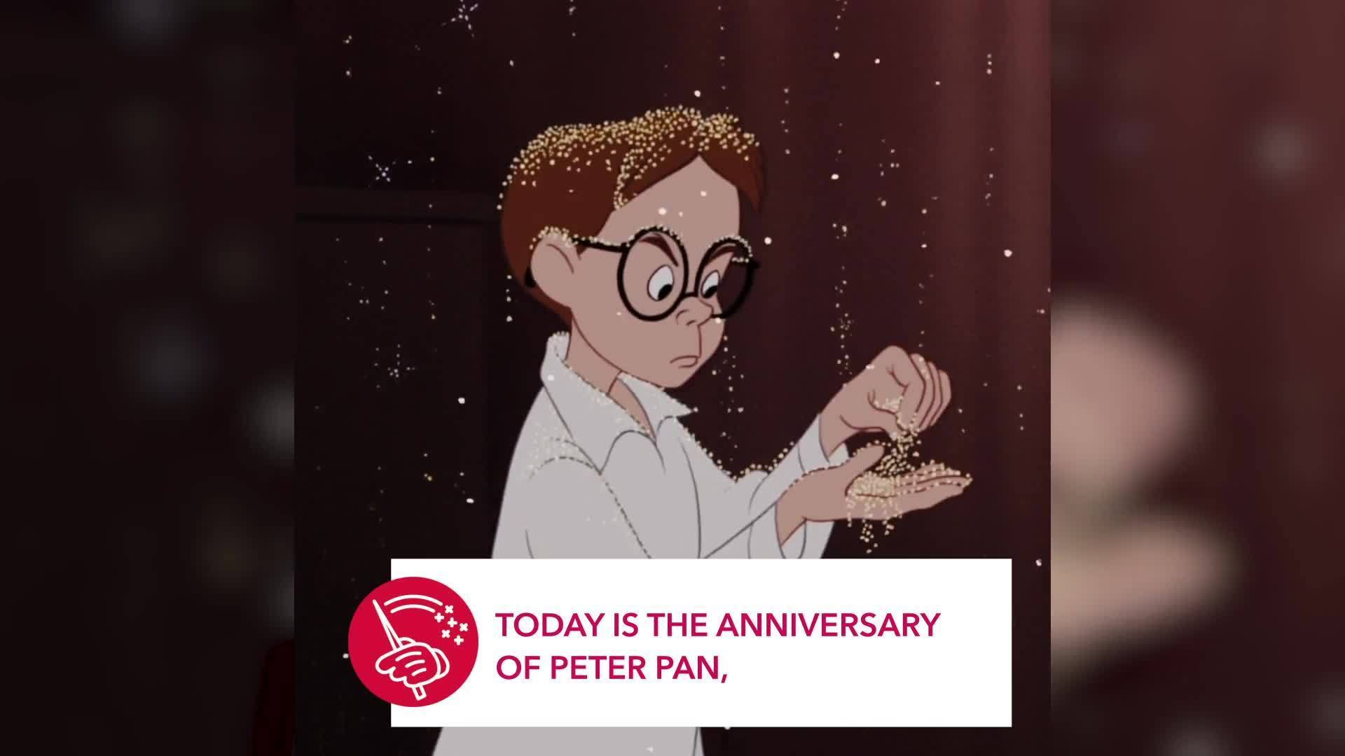 Peter Pan | This Day in Disney History by Oh My Disney