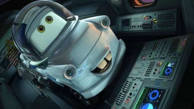 Moon Mater - Cars Toons: Mater's Tall Tales