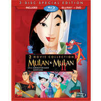 Image of Mulan 15th Anniversary Blu-ray and DVD Combo Pack # 1