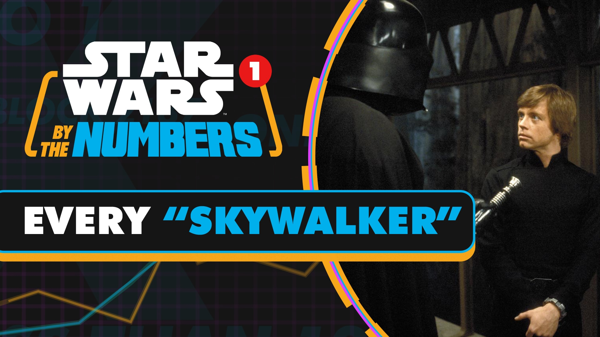 Every Time Skywalker is Said in Star Wars Movies | Star Wars By the Numbers