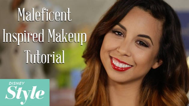 Maleficent-Inspired Makeup Tutorial - Disney Style