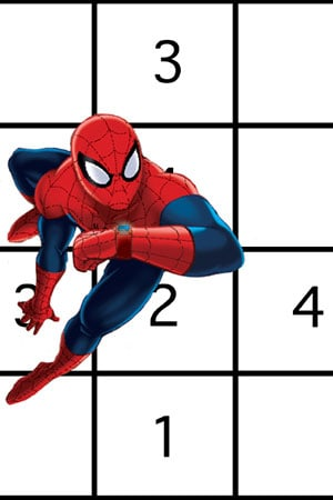 Spidey Secret Code Sudoku