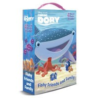 Image of Finding Dory ''Fishy Friends and Family'' Board Book Set # 1