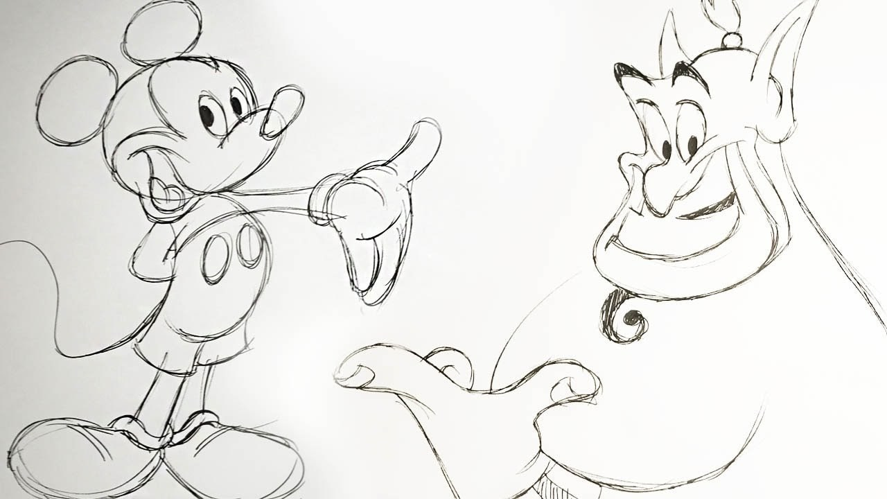 How to Draw Disney Characters with Eric Goldberg | Quick Draw
