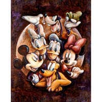 Image of Mickey Mouse and Friends ''Super Gang'' Giclée by Darren Wilson # 1