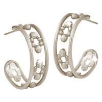 Mickey Mouse Hoop Earrings - 18K