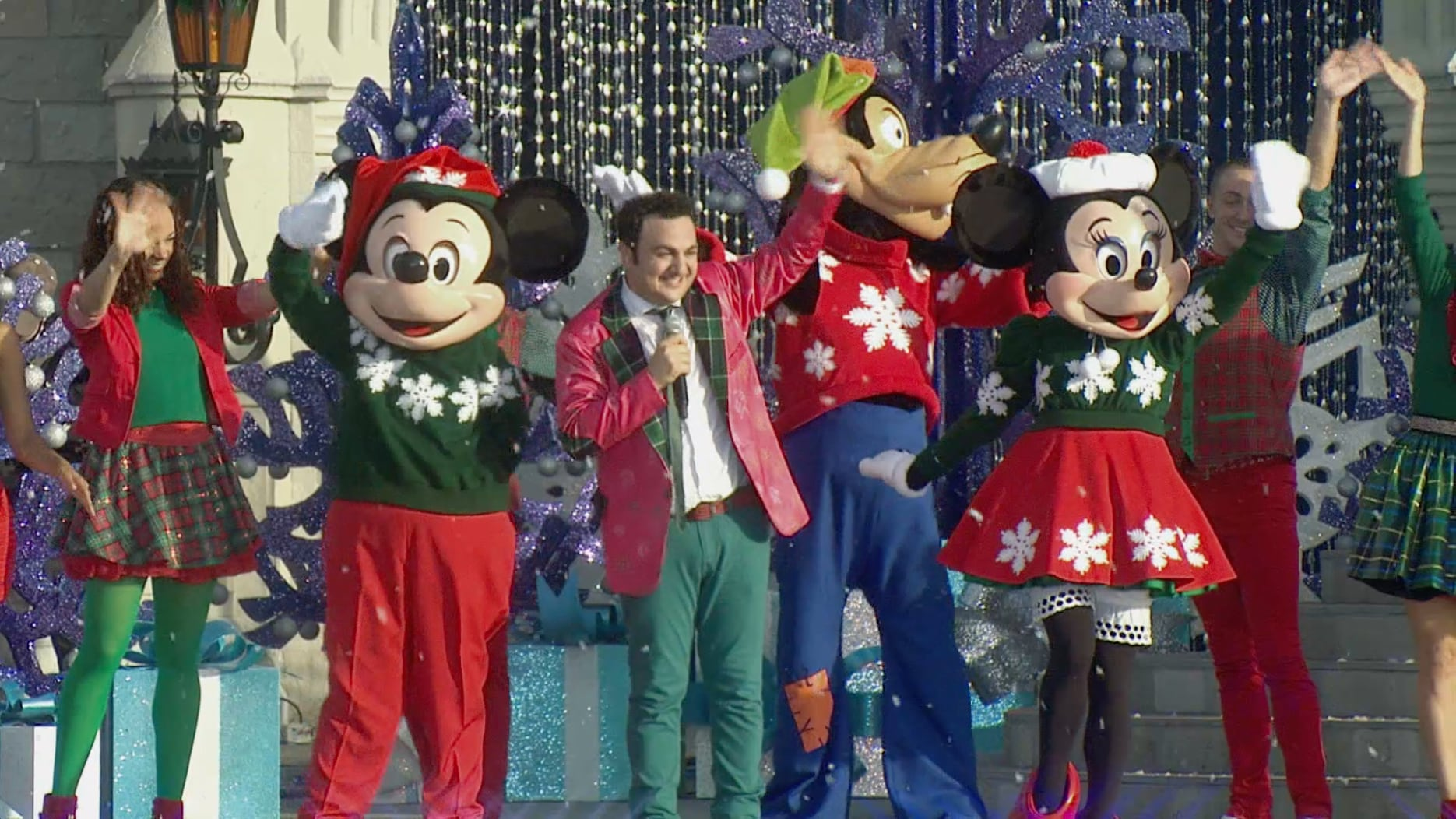 Topa no Magic Kingdom – O Natal