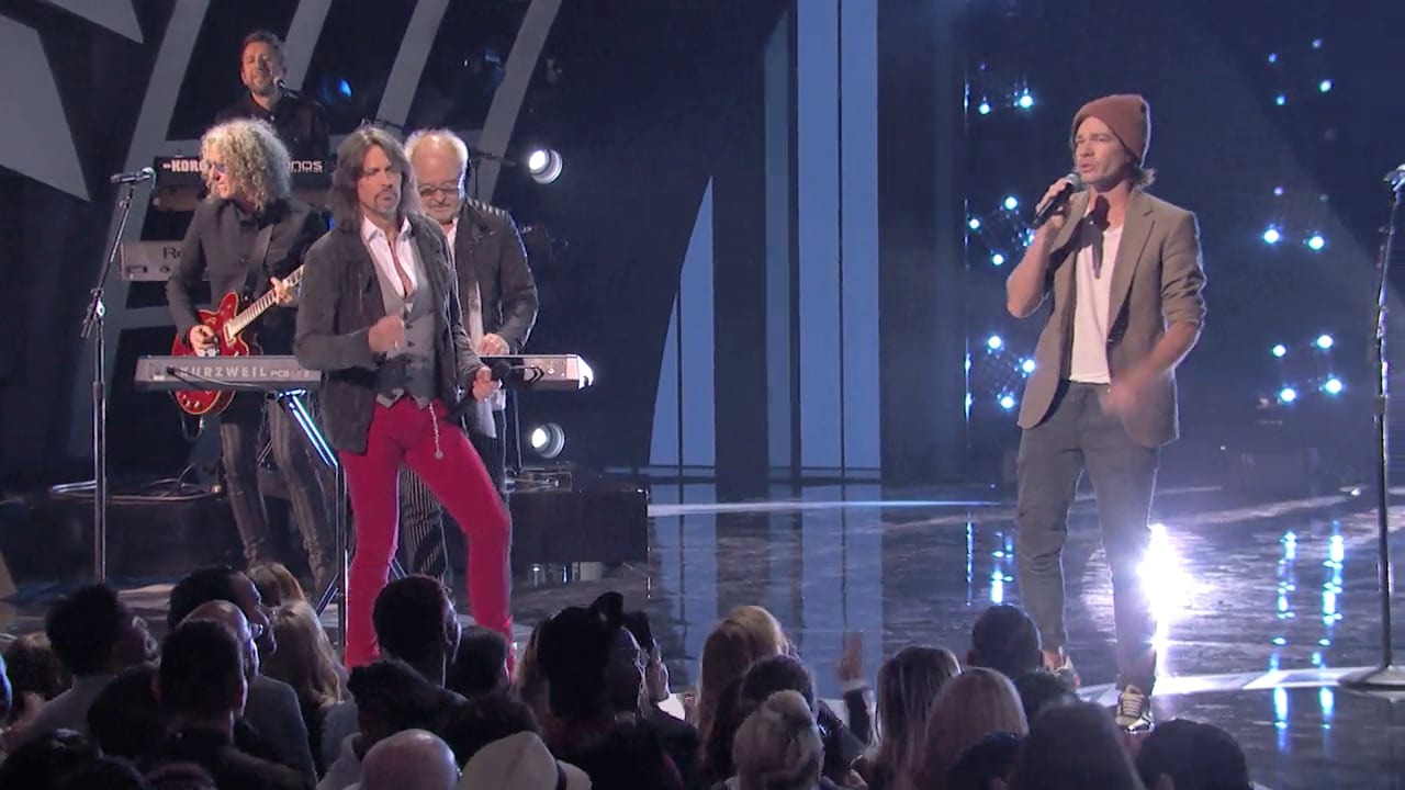 "FOREIGNER & NATE REUSS - ""I Want To Know What Love Is"""