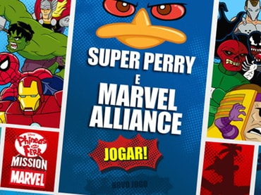 Super Perry e Marvel Alliance