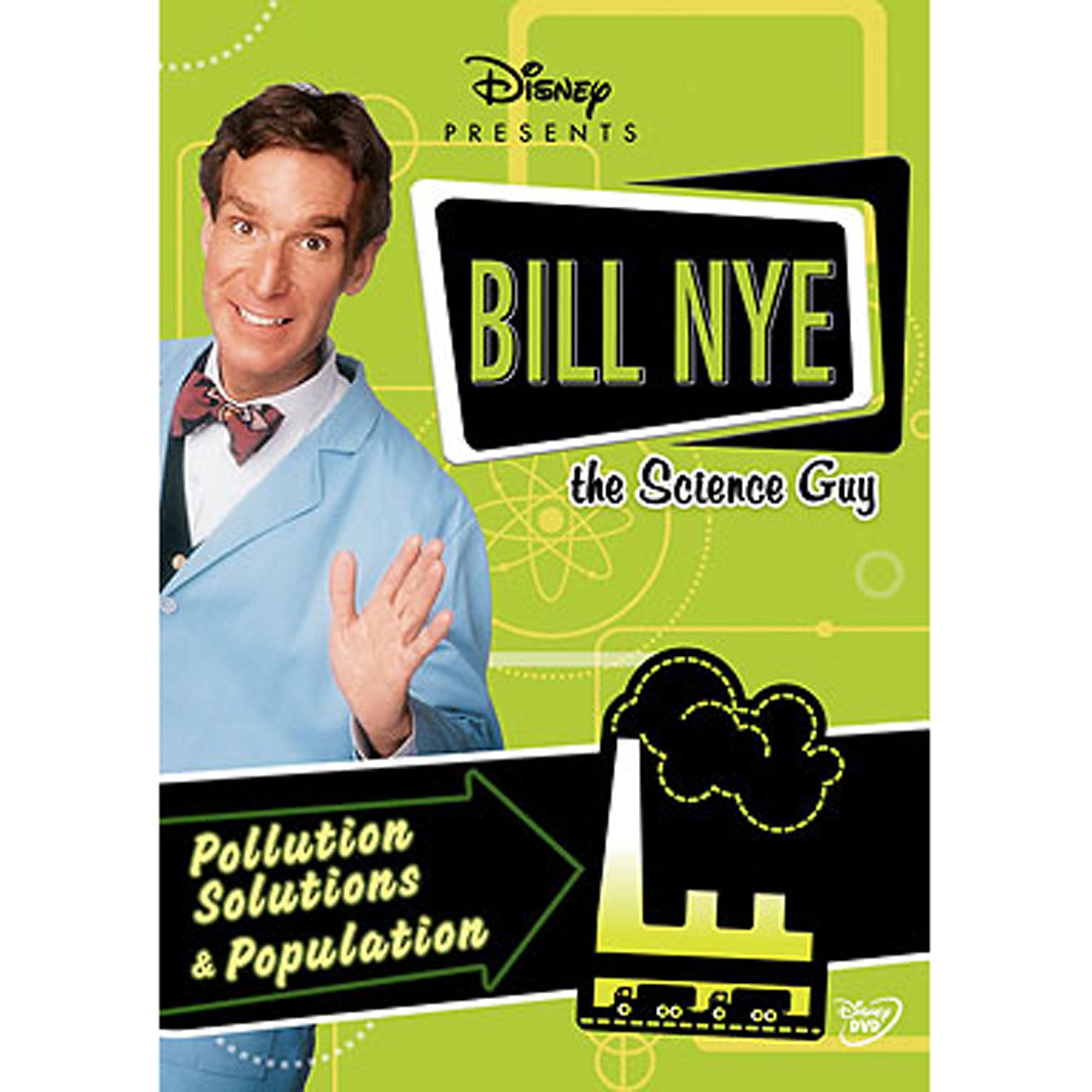 Bill Nye The Science Guy: Pollution Solutions U0026 Population DVD
