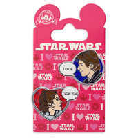 Image of Han Solo and Princess Leia Pin Set - Star Wars # 2