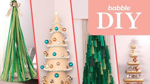 Alternative DIY Christmas Trees | Babble DIY