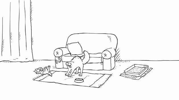 """""""Doble problema"""" - El gato de Simón (Favorito de Disney)"""