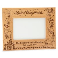 Image of Walt Disney World Cinderella Castle Frame by Arribas - Personalizable # 2