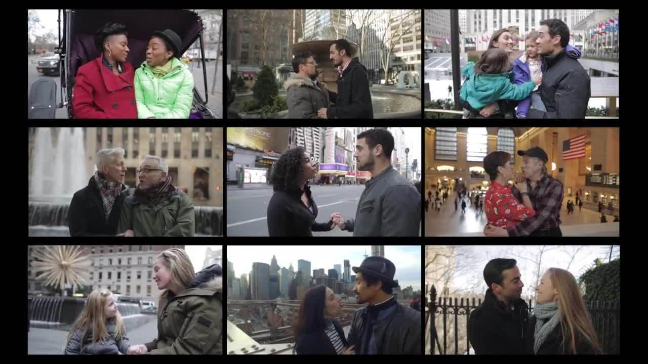 "New Yorkers Sing ""A Whole New World"""