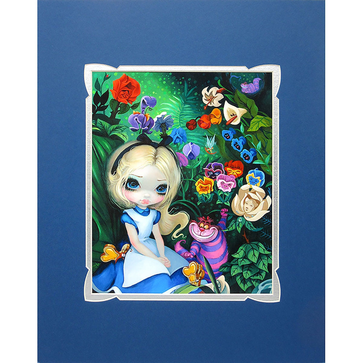 Alice in the garden deluxe print by jasmine becket griffith product image of alice in the garden deluxe print by jasmine becket izmirmasajfo