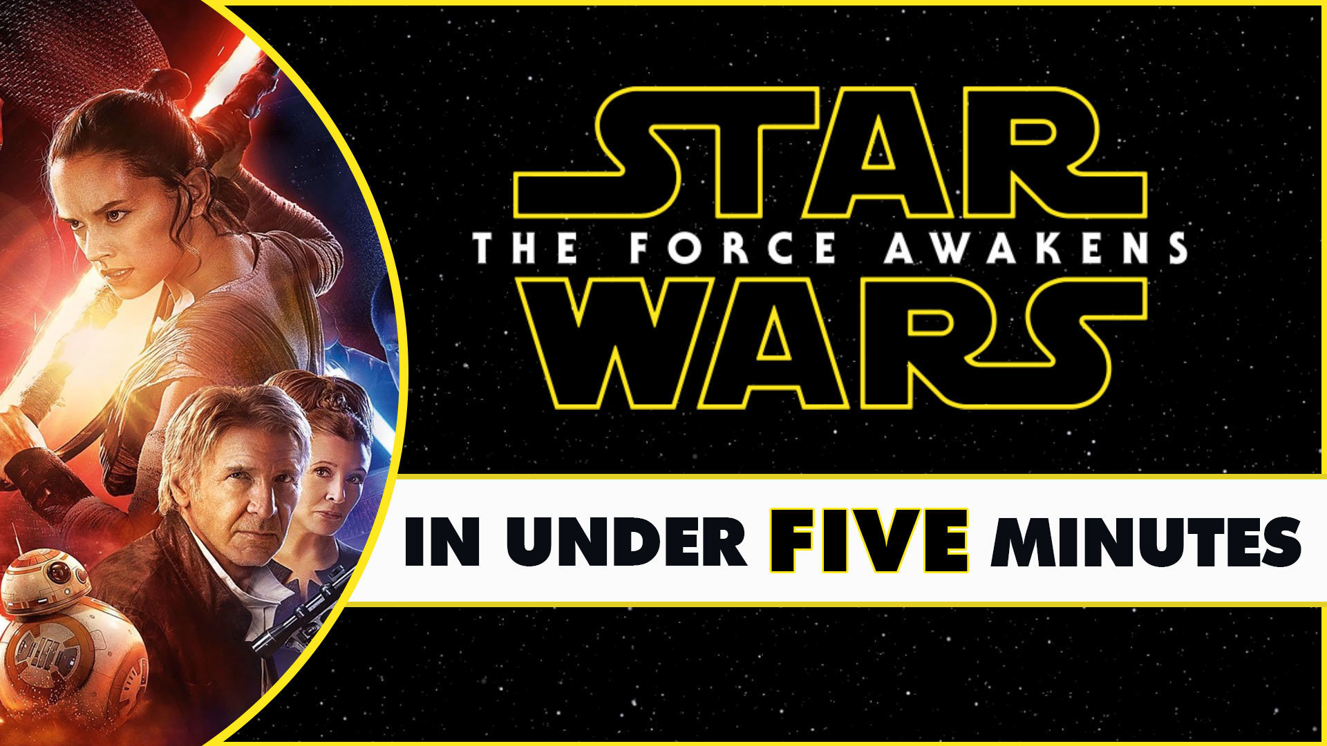 Star Wars: The Force Awakens in Under Five Minutes
