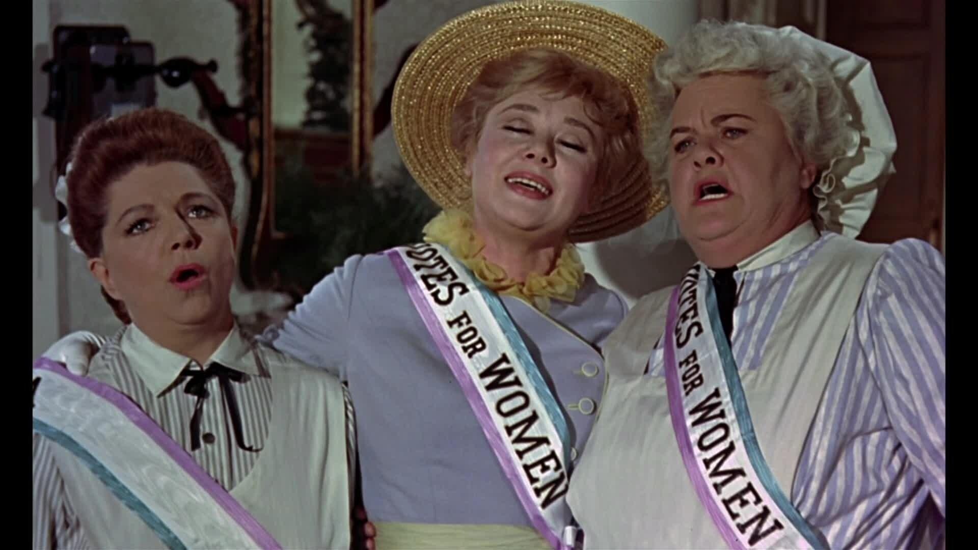 Mary Poppins - Chanson : Les Soeurs Suffragettes (par Mme Banks, Ellen et Mme Brill)