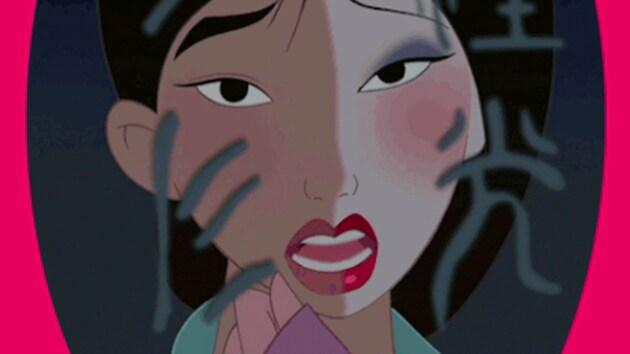 Mulan Makeup Removal Disney LOL