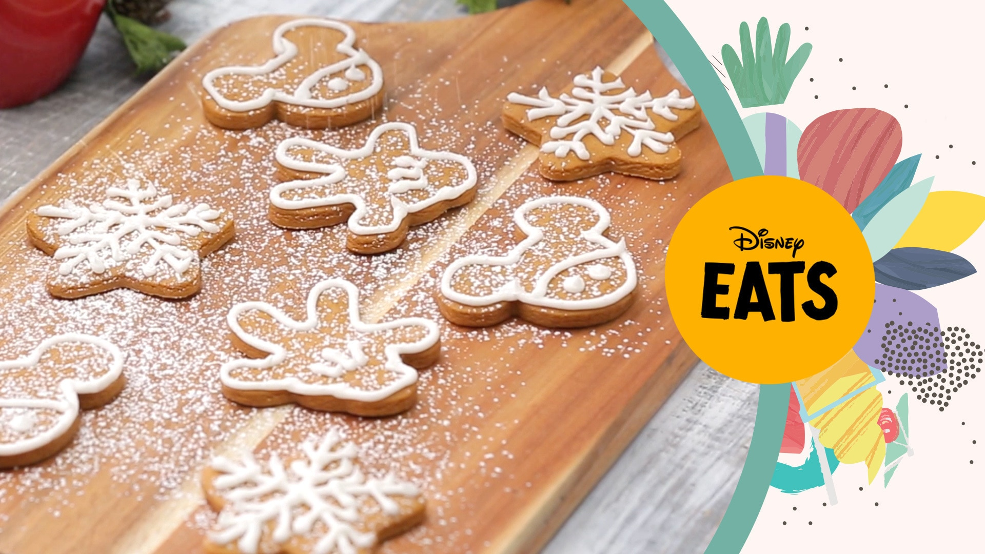 Mickey Mouse Gingerbread Cookies | Disney Eats