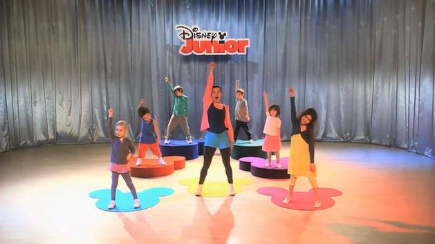 Dans med Disney Junior - Tre lette trinn