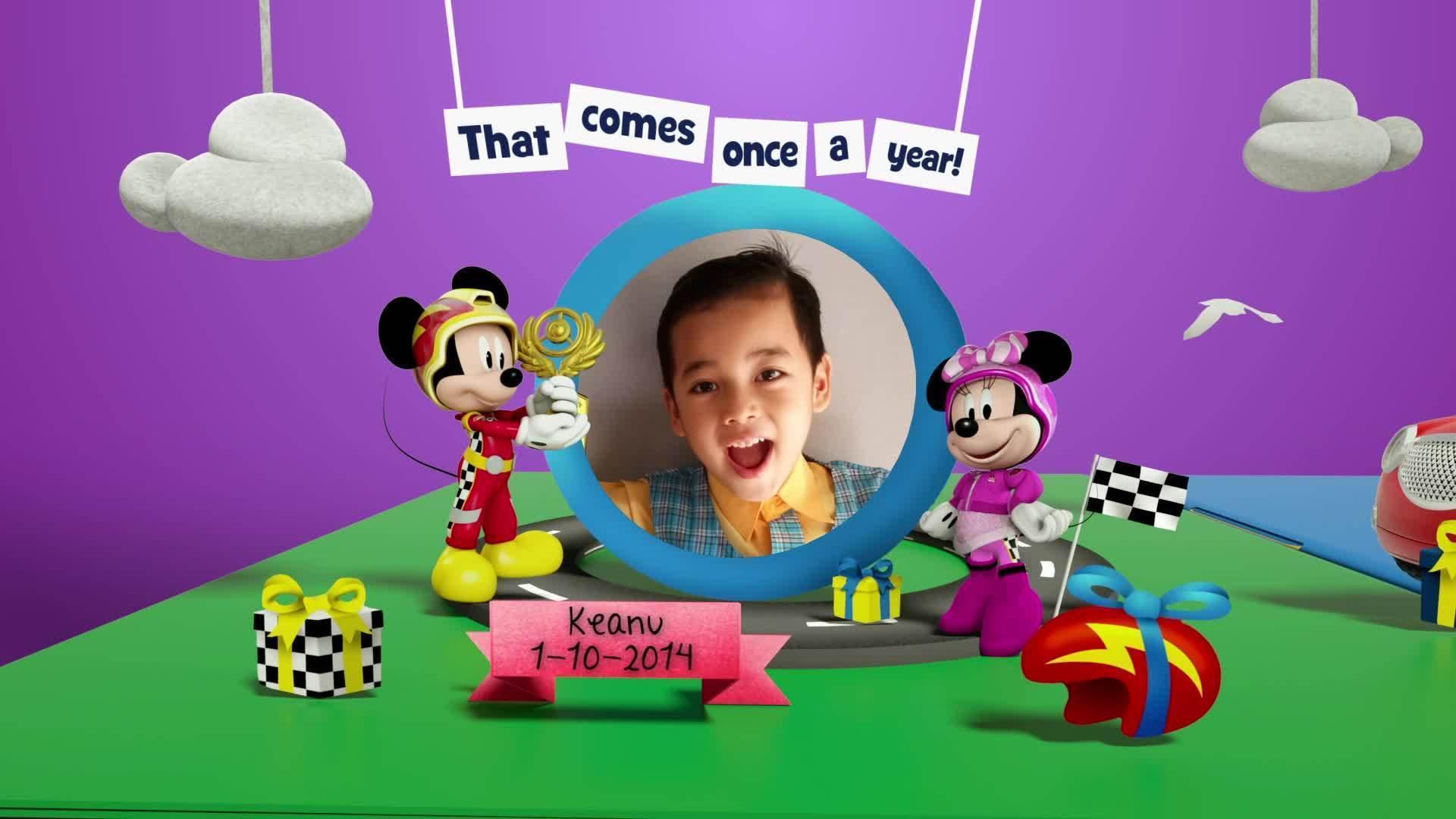 Disney Junior Birthday Book 2020 October Album 4