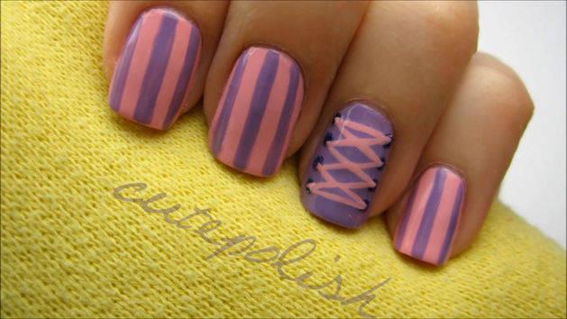 Tangled - Rapunzel Nails