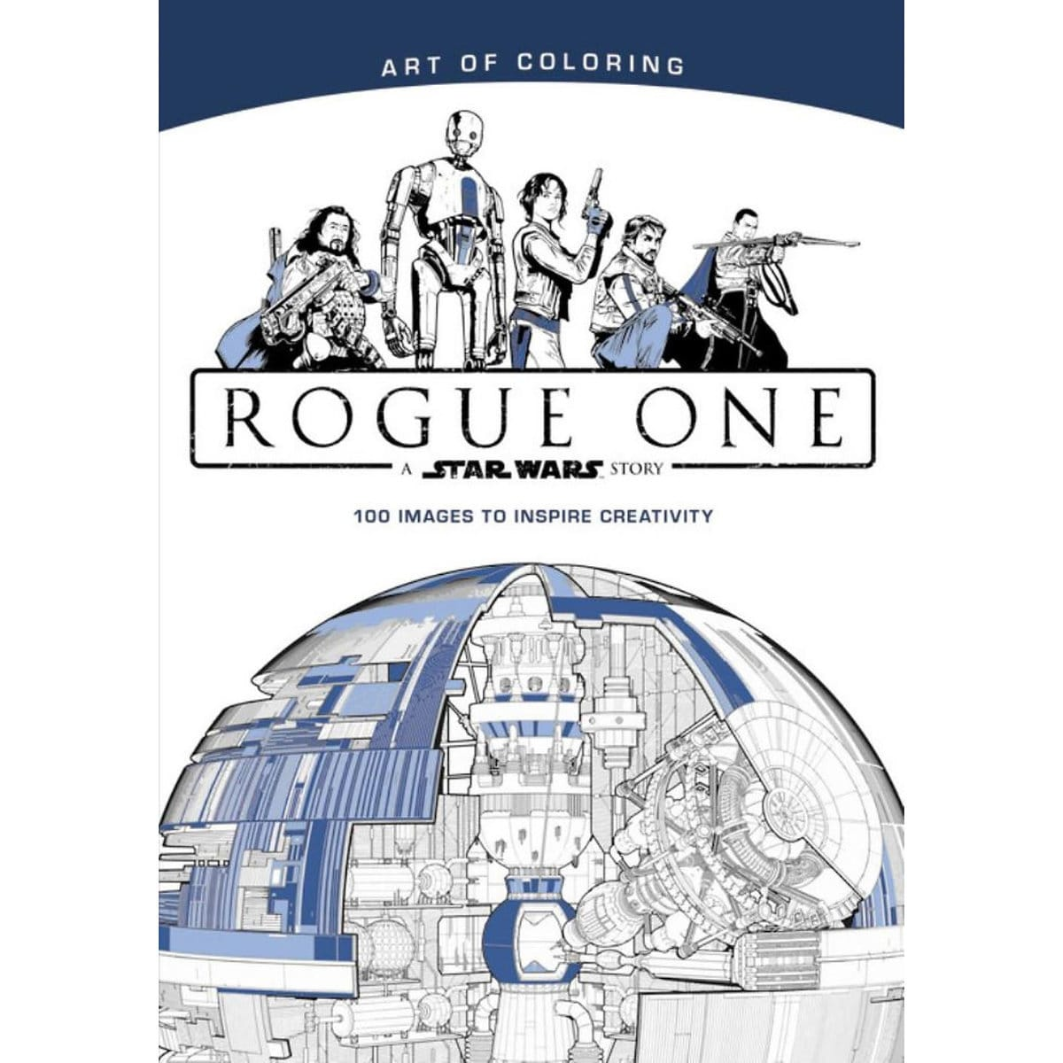 rogue one a star wars story art of coloring book shopdisney